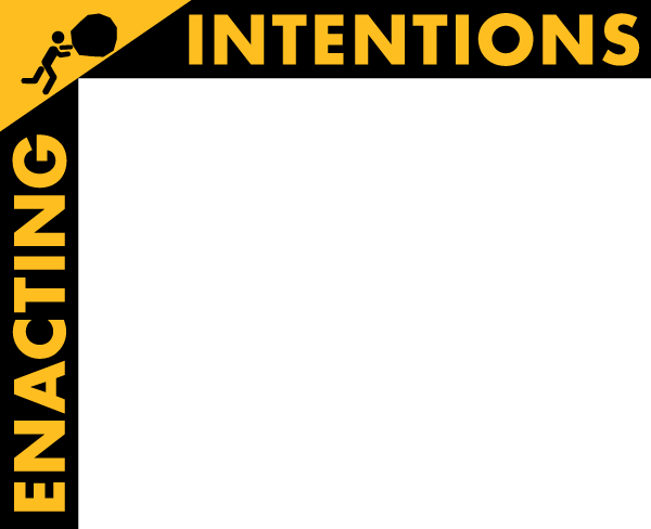 Enacting Intentions Logo