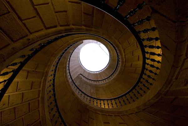 Stairs at Santo Domingo de Bonaval, Santiago de Compostela
