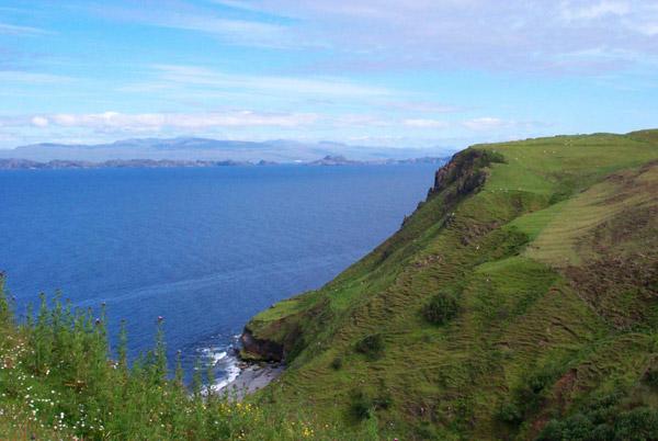 Cliff on Skye