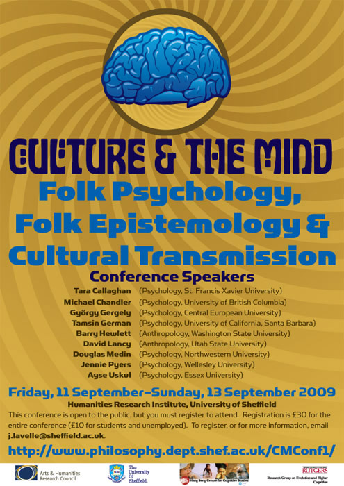 Folk Psychology Poster
