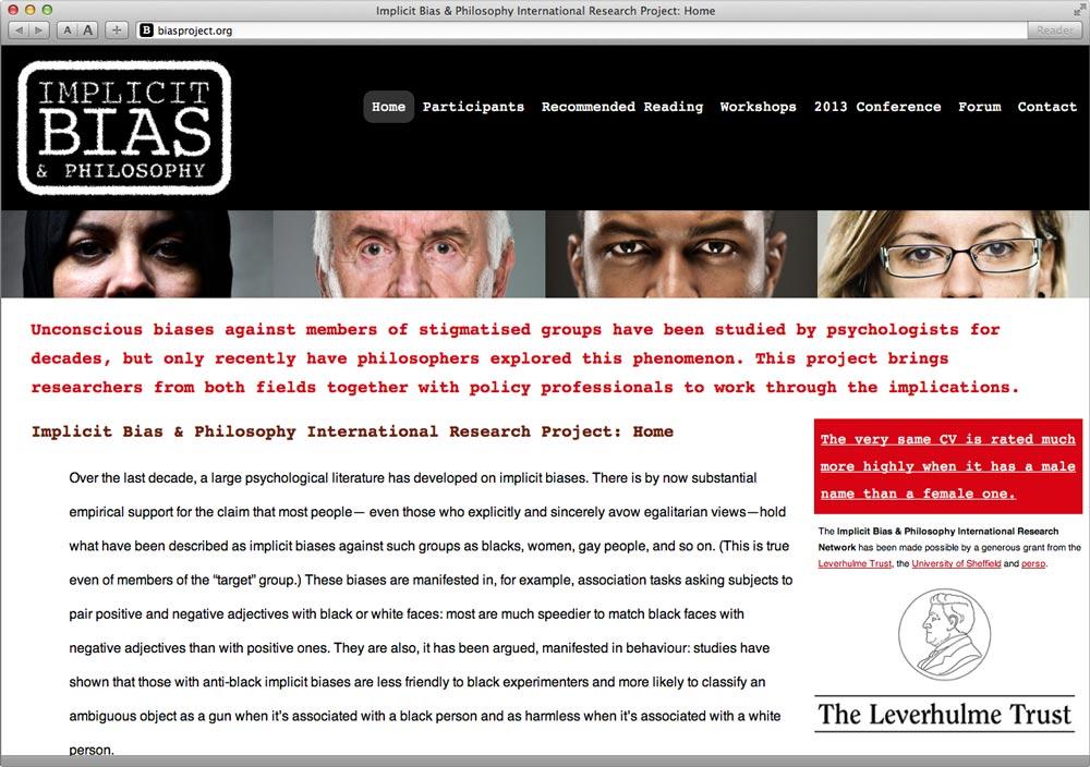 Bias Project Website