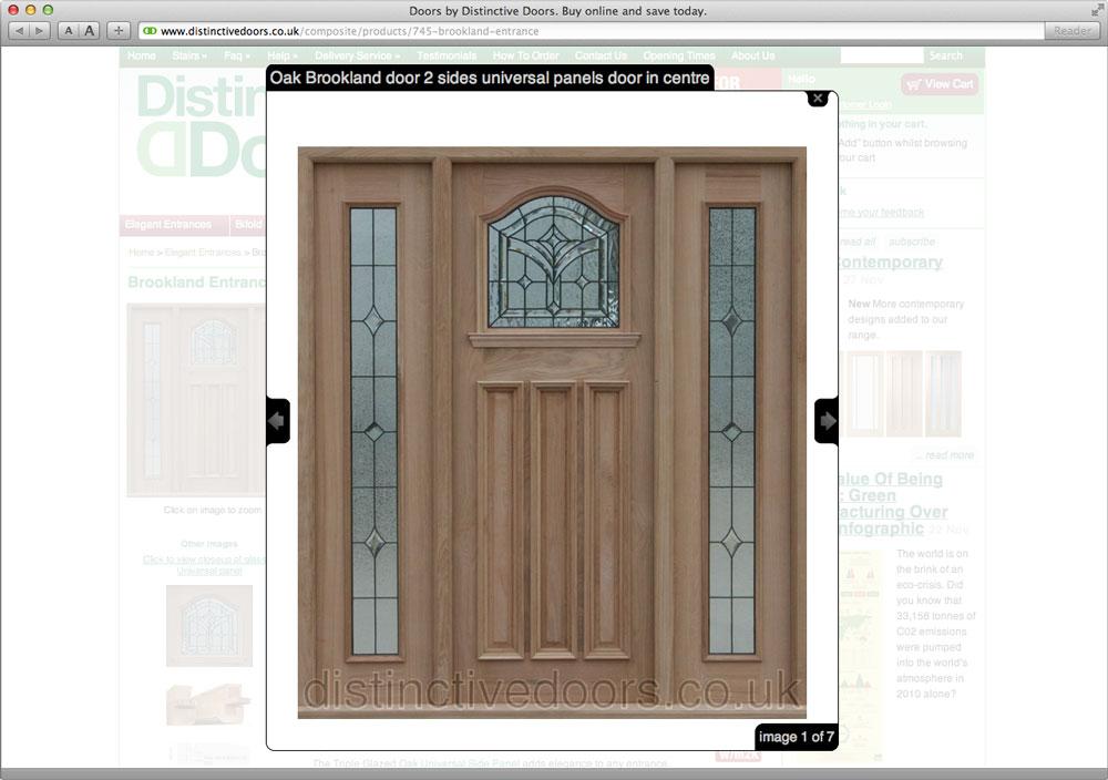 Distinctive Doors: Product View